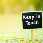 Keeping In Touch – September 2020
